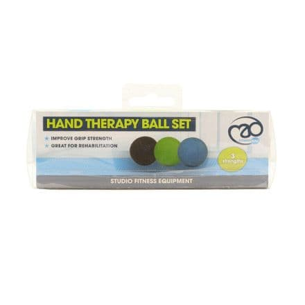 Fitness Mad Hand Therapy Ball Set Of 3 Gym Training